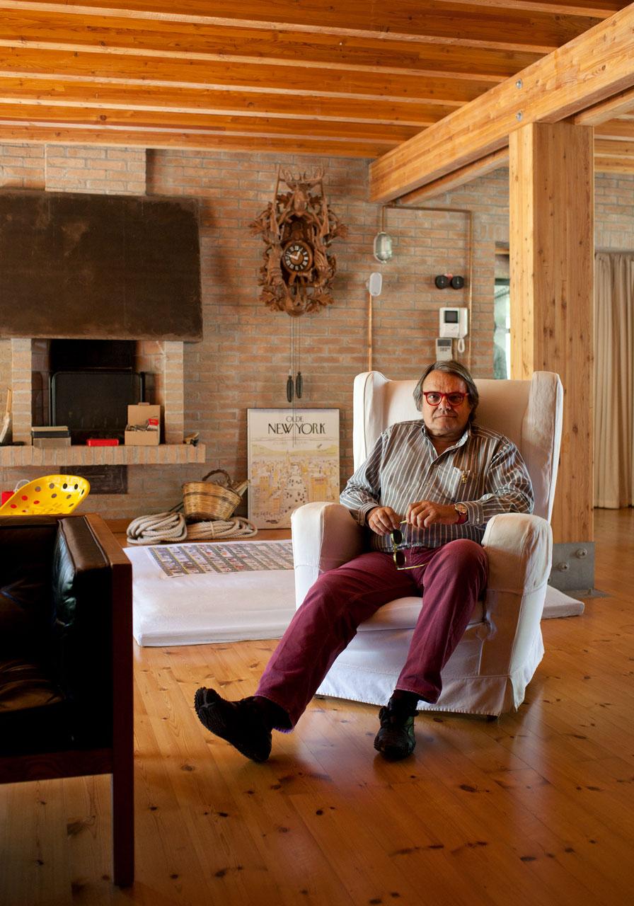 Oliviero Toscani © Alberto Giuliani / LUZ intervista Oliviero Toscani