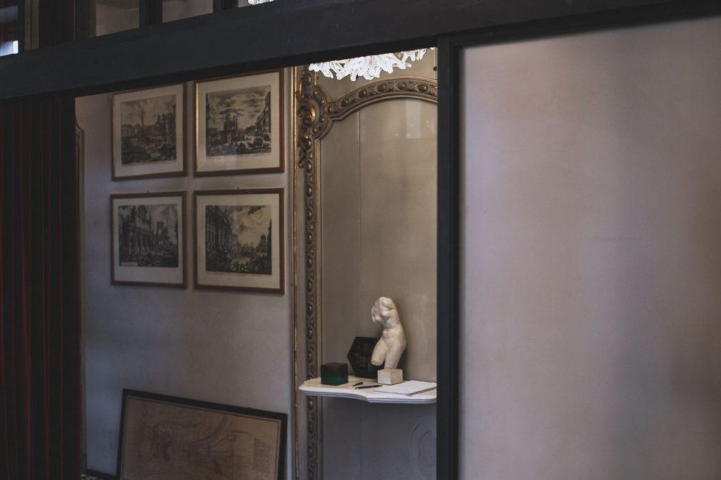 carlo mollino casa museo fulvio ferrari Gli interni della casa di Carlo Mollino in via Napione 2 a Torino © Vito Maria Grattacaso / LUZ